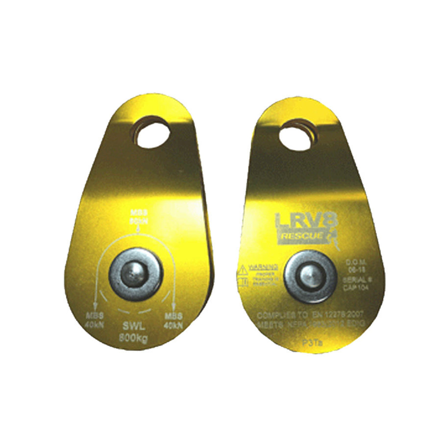 60mm Single Wide Alloy Pulley