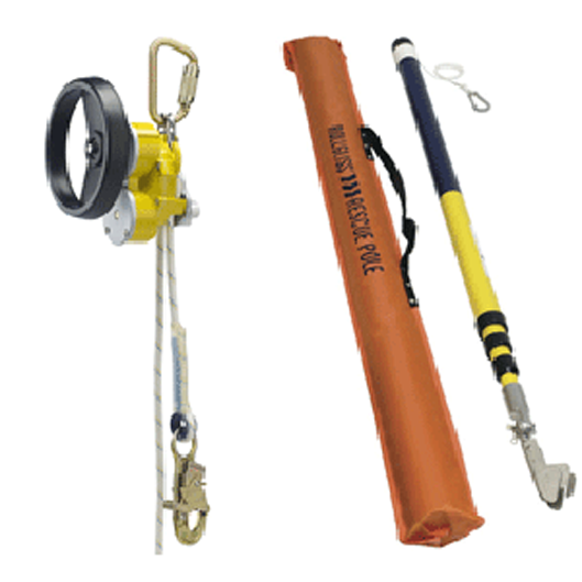 R550 Rescue&Descent Device with Pole