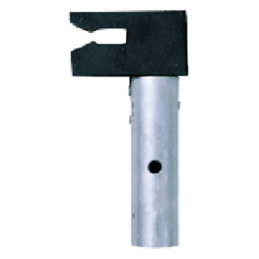 Rubber pole adaptor claw