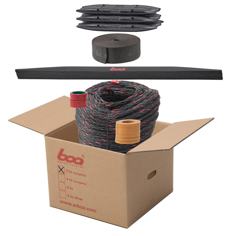 2 Tonne Tree Bracing Kit - 3 Set