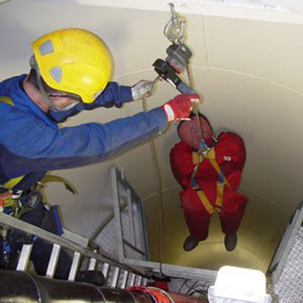 Wind Turbine Lad Nacelle Rescue