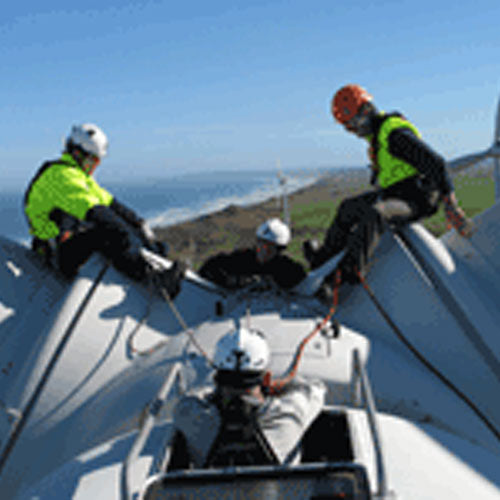 Wind Turbine Nacelle & Ladder Ref & Evac