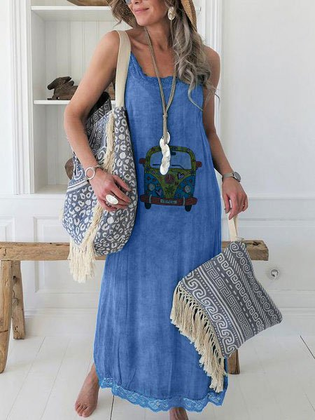 Casual Hippie Dress
