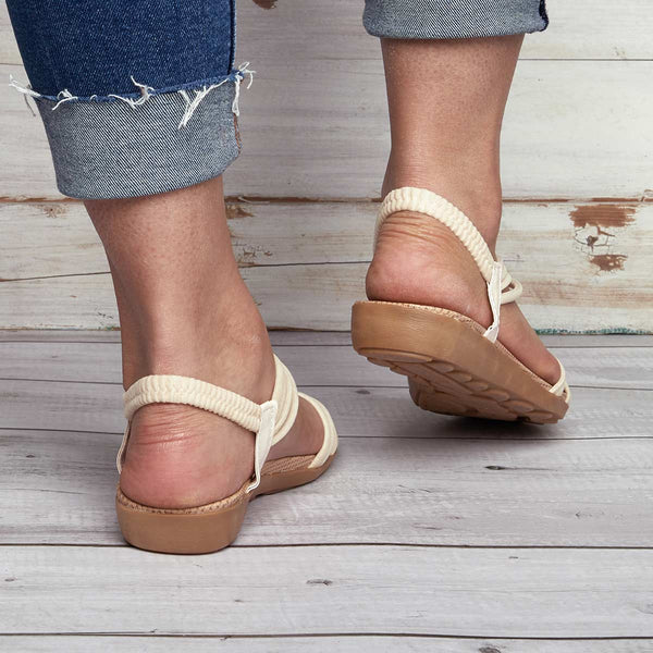 Women Summer Clip Toe Bohemia Slippers Flip Flops Flat Sandals
