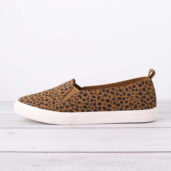 Women Fashion Leopard Loafers All Season Flat Shoes