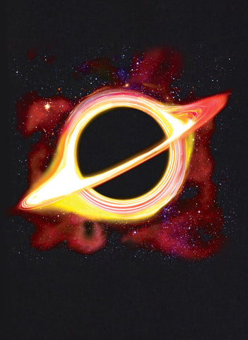 Black Hole Space T-Shirt