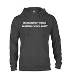 Remember When Zombies Were Cool T-Shirt