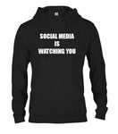 Social Media is Watching You T-Shirt - Five Dollar Tee Shirts