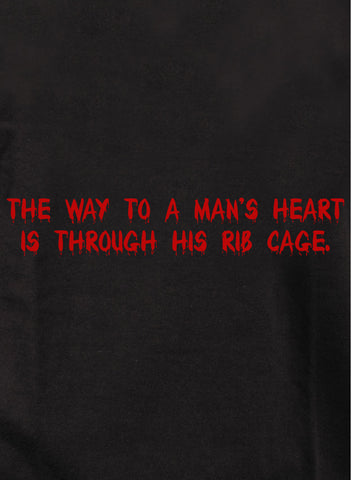 The way to a man's heart T-Shirt