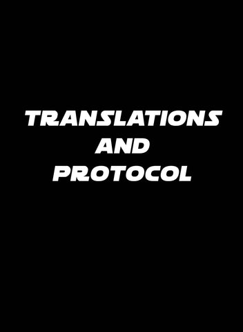 Translations and Protocol T-Shirt - Five Dollar Tee Shirts