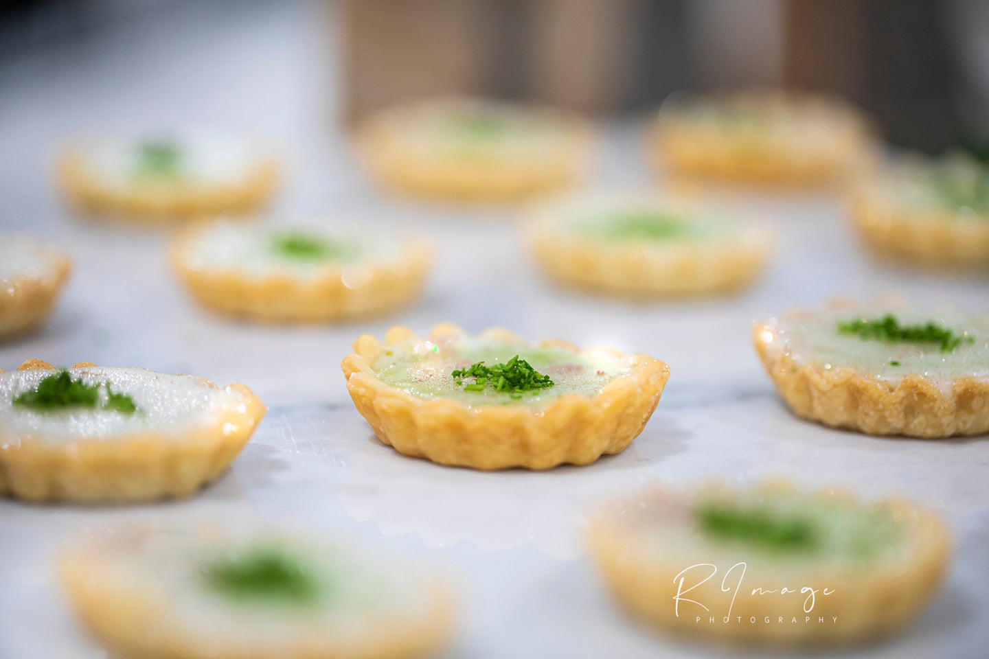 +key lime pie tarts - Alchemy Bake Lab