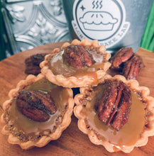 Load image into Gallery viewer, +TX PECAN CARAMEL TARTS: 6 PACK - Alchemy Bake Lab
