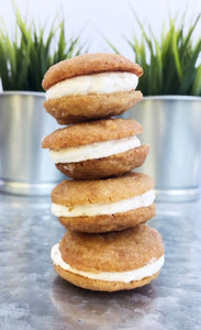+treacle cookie sandwiches - Alchemy Bake Lab