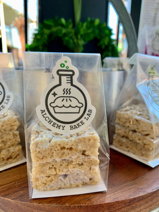 +BROWN BUTTER KRISPY TREATS: 12 PACK - Alchemy Bake Lab