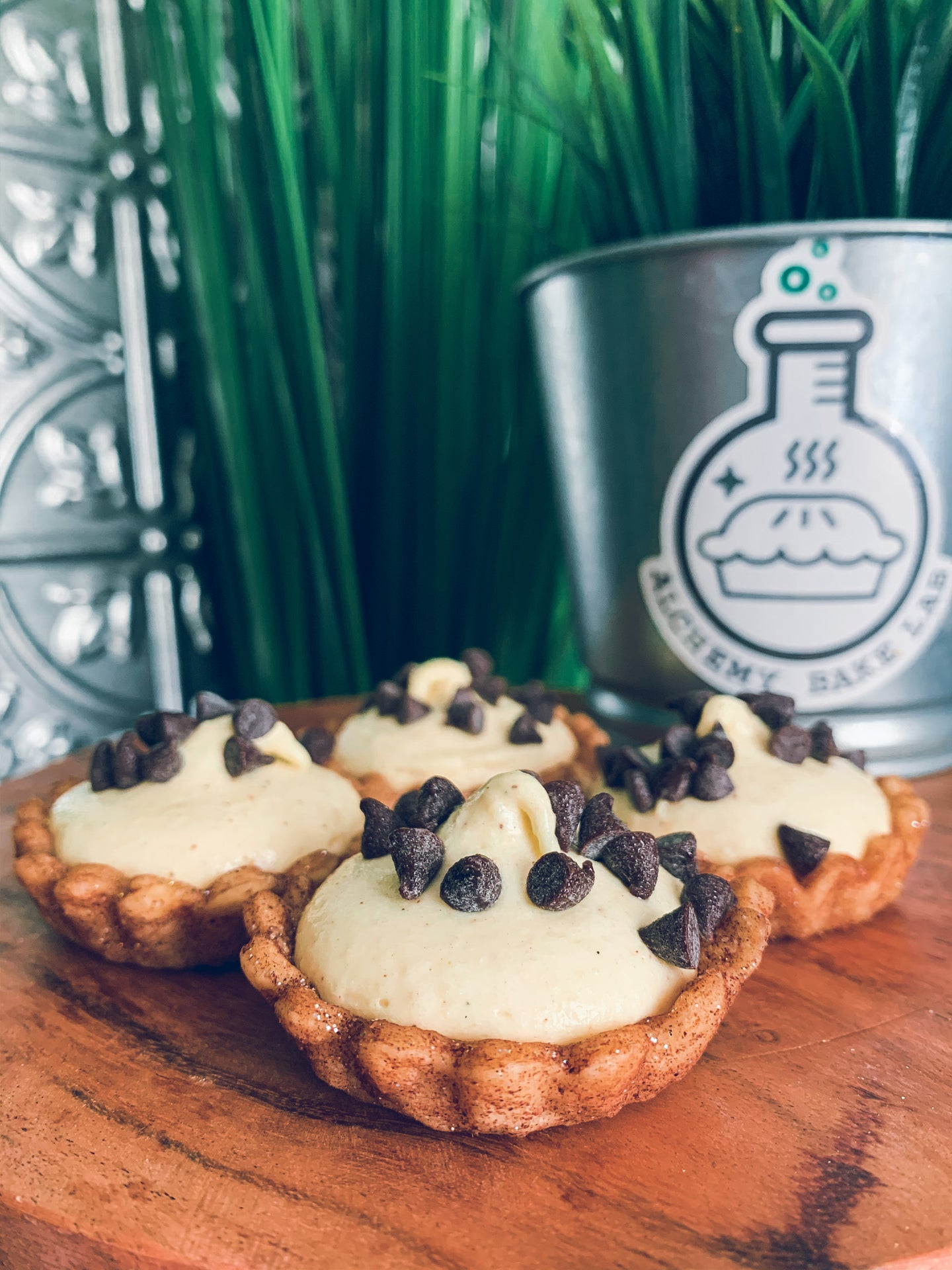 +cannoli tarts - Alchemy Bake Lab