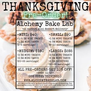 T-GIVING PRE-ORDER: LARGE - Alchemy Bake Lab