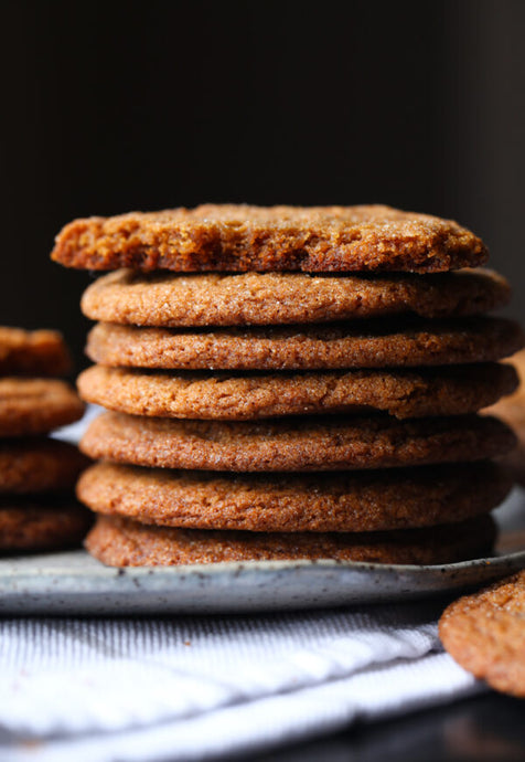 +ginger crunch cookies - Alchemy Bake Lab