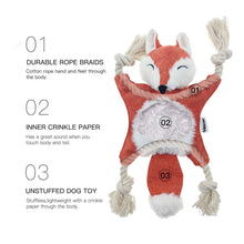 Load image into Gallery viewer, Fox Dog Toys - VITSCAN