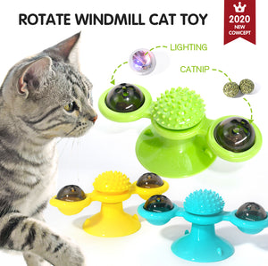 Rotate Windmill Cat Toy - VITSCAN