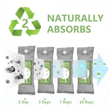 Load image into Gallery viewer, 12 Pack Bamboo Charcoal Air Purifying Bag - VITSCAN