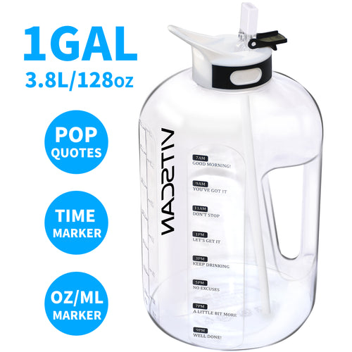 75oz/128oz Water Bottle - VITSCAN