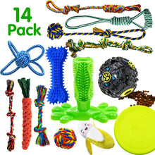 Load image into Gallery viewer, 14 Pack Dog Rope Toys SHARLOVY - VITSCAN