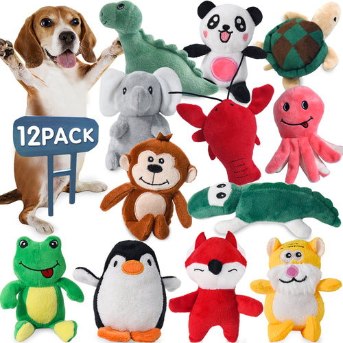 12 Plush Pet Dog Toy Set LEGEND SANDY - VITSCAN