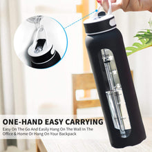 Load image into Gallery viewer, Glass Water Bottle with 32 OZ Straw - VITSCAN