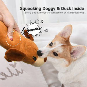 Stuffed Animals Squeaky Dog Toys - VITSCAN