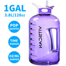 Load image into Gallery viewer, 128oz Water Bottle - VITSCAN