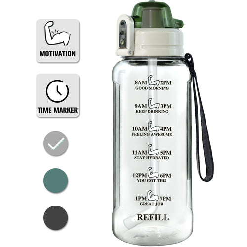 32 Oz Time Marker Water Bottle - VITSCAN
