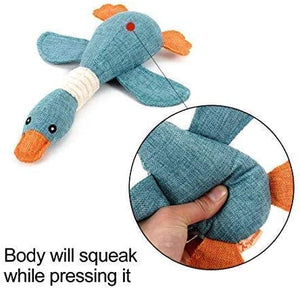 Vitscan Squeaky Goose Toy - VITSCAN