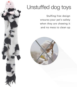 5 Pack Dog Squeaky Toys - VITSCAN