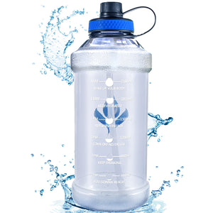 Motivational 100OZ Water Bottle with Straw - VITSCAN