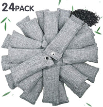 Load image into Gallery viewer, 24 Pack Bamboo Charcoal Air Purifying Bag Vitscan - VITSCAN
