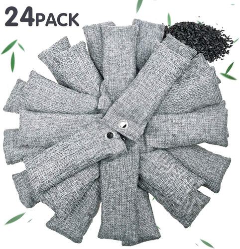 24 Pack Bamboo Charcoal Air Purifying Bag Vitscan - VITSCAN