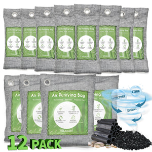 12 Pack Bamboo Charcoal Air Purifying Bag - VITSCAN
