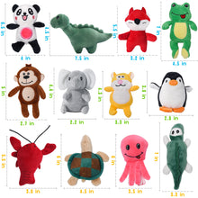 Load image into Gallery viewer, 12 Plush Pet Dog Toy Set LEGEND SANDY - VITSCAN