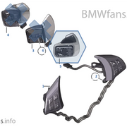 BMW E-series (LCI/DCT) V1 Paddle Kits