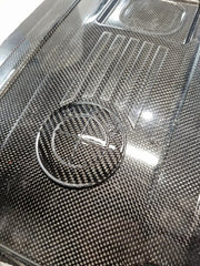 Roundel for N54 TruCarbon Engine Cover