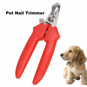 Easy Grip Spring Action Safety Dog Cat Nail Clipper