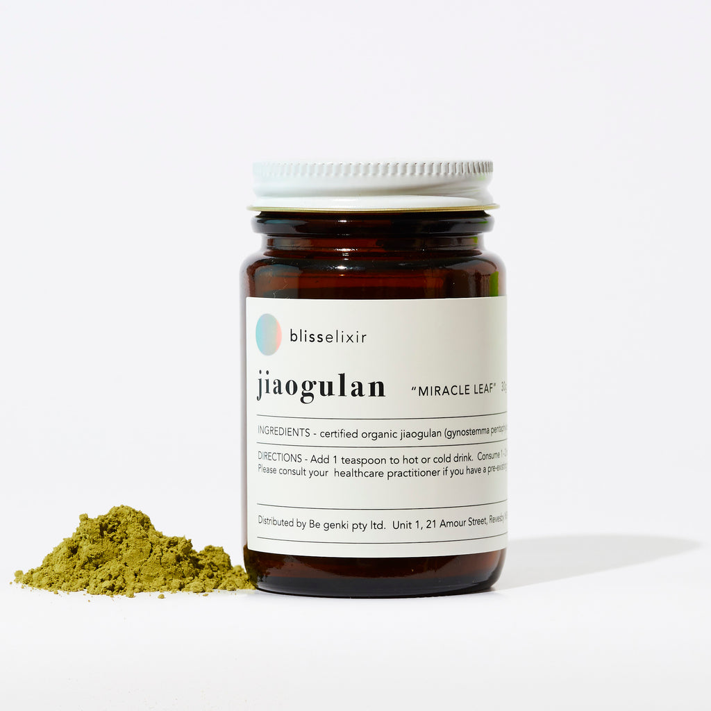 "This month I'm Loving… JIAOGULAN (""miracle herb"")"