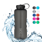simplBottle - sportliche Trinkflasche in transparenter Optik - 720°DGREE