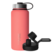noLimit - robust stainless steel vacuum flask including sports lid