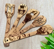 Alice in Wonderland Utensil Set