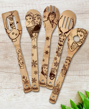 Frozen Wood-burned Spoons Set - Sponilo