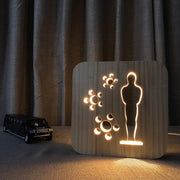 Movie Award Wood Lamp - Sponilo