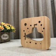 Submarine Wood Lamp - Sponilo