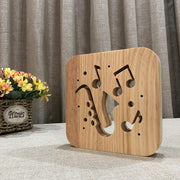 Saxophone Wood Lamp - Sponilo