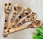 Mickey Mouse Utensil Set